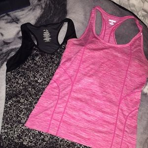 2 sports tops